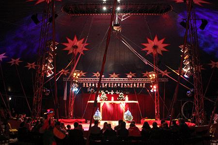 vorstellung circus krone dauer